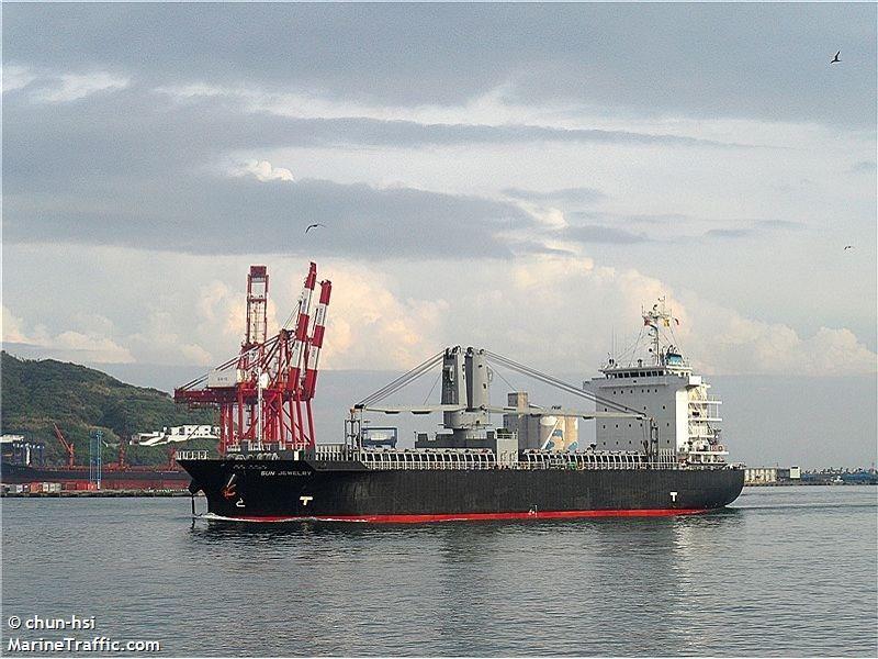 9045吨带吊巴拿马籍杂货船