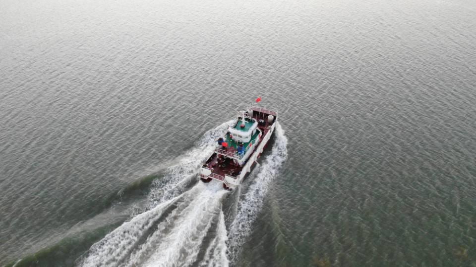 19m海上风电运维服务船,试航