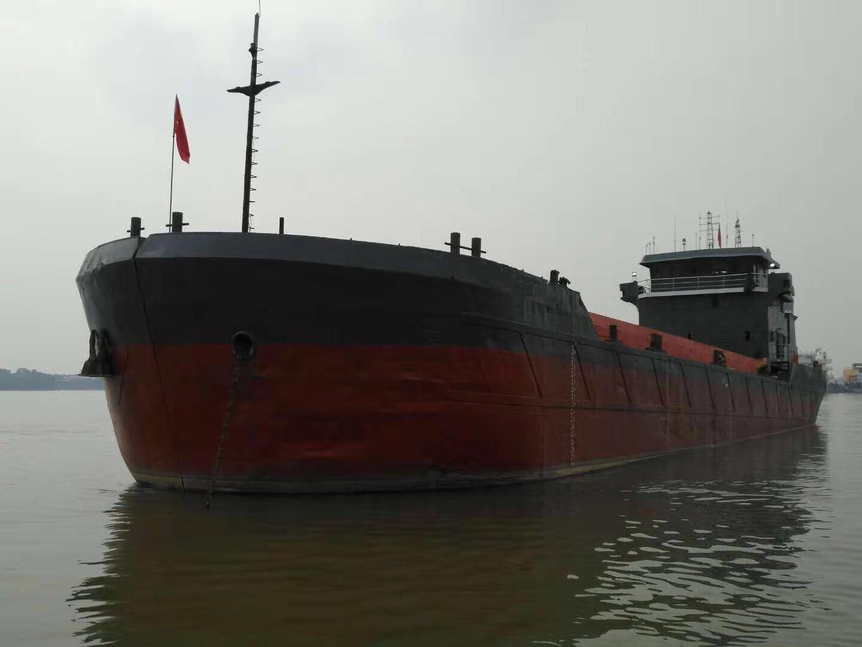 出售沿海1200方开体泥驳船