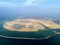 """48小时前 中国""""造岛神器""""在印度洋大"""