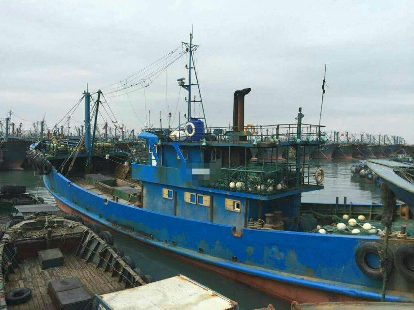 出售单拖渔船