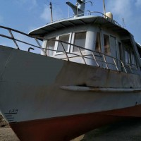 售:2011年沿海15米钢制交通船