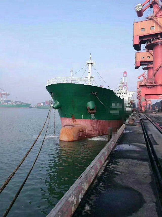 售2009年9900T沿海散货船