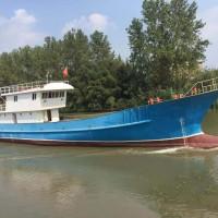 出售全新37米钢制单拖渔船