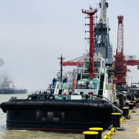 日本造3200马力全回转拖轮