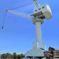 超低价供应修造船用全新未用100吨门坐式起重机