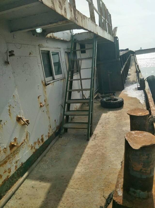 自卸皮带船
