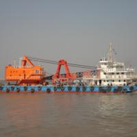 出售2011年造沿海自航25方抓斗挖泥船+2条泥驳