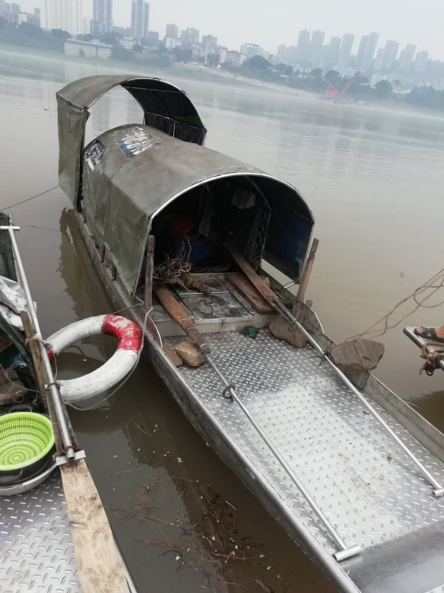 出售二手不锈钢渔船15723431343