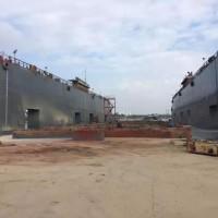 出售2010年造5500举力遮蔽航区浮船坞