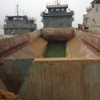 出售2011年造1000方沿海开体泥驳