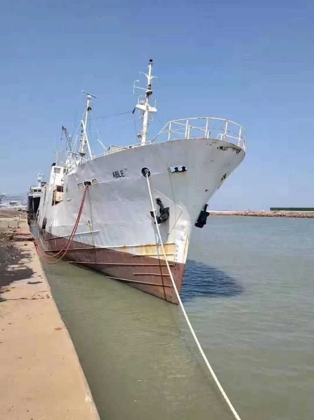 出售1978年冷冻船