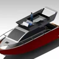 42尺/13.9米铝合金游艇 一百万左右的私人游艇