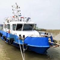 低价出售2012年造20米沿海钢制交通船