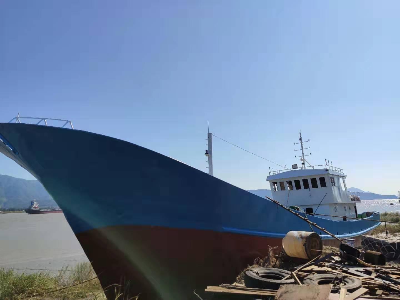 出售180吨 无证鱼油船