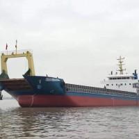 出售2018年造2597吨沿海甲板驳船