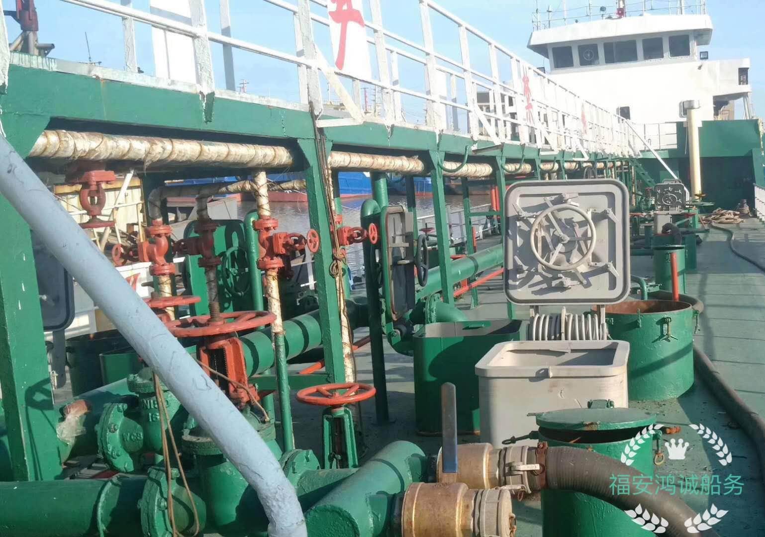 出售1000吨轻油船