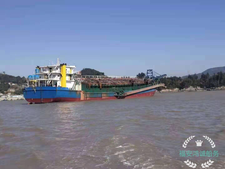 出售4000吨自吸自卸砂船
