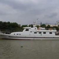 出手2018年造25米沿海钢制交通船