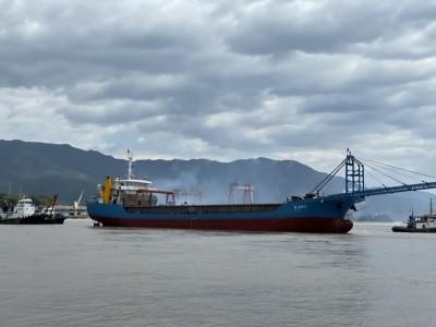 新建造89.9米自卸砂船