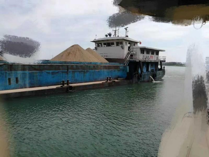 出售内河自卸沙船3300吨