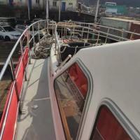 售:2008年沿海16米玻璃钢交通船