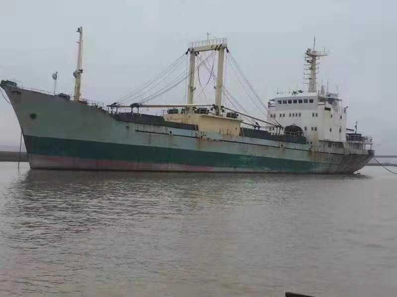 出售1993年山东造冷藏船