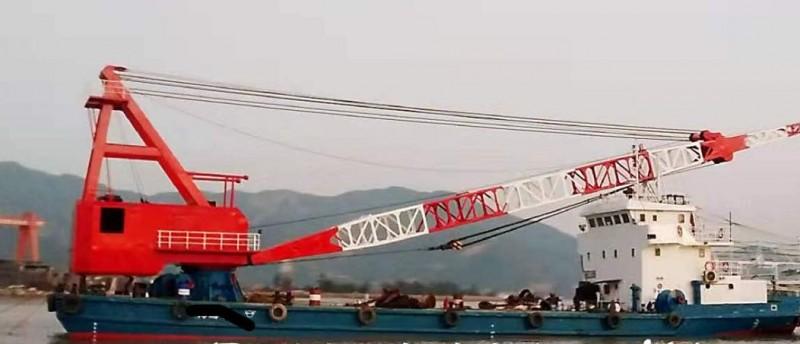 出售350吨全回转起重船