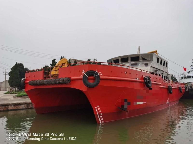 出售48米2012年广州造内河车客渡船