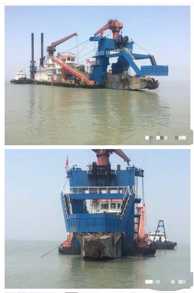 出售4500方/小时非自航绞吸式挖泥船