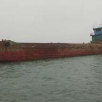 出售2010年造1000方沿海开体驳船可抛石