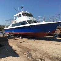 售:2013年沿海18.8米玻璃钢游艇