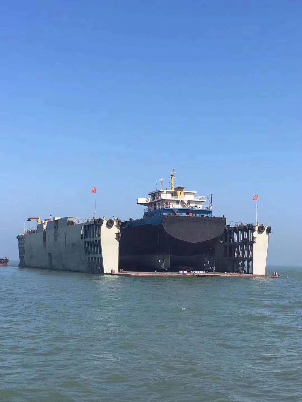 售7000吨内河浮船坞