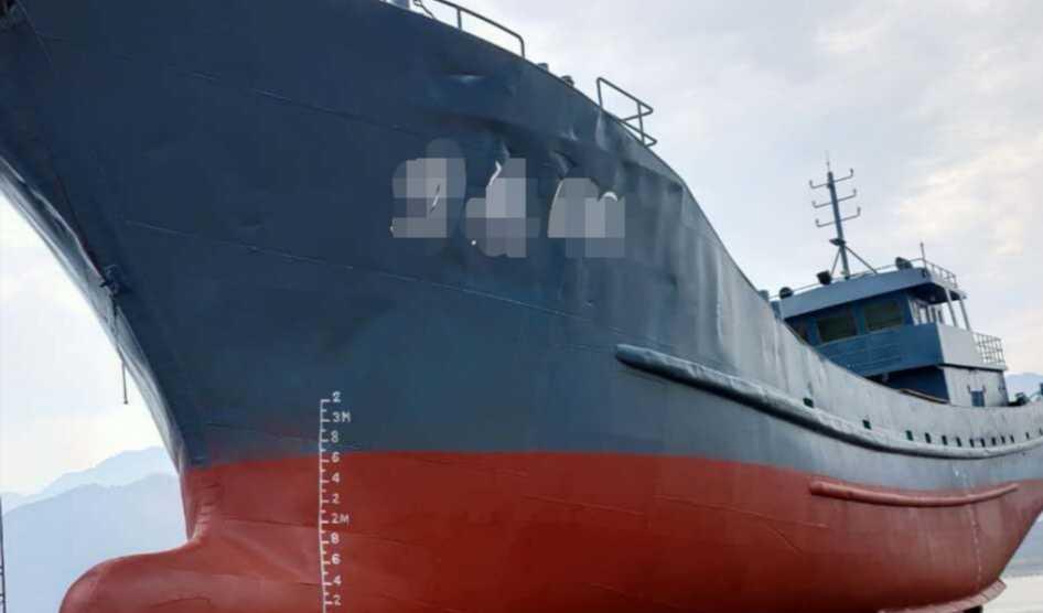 450吨渔船型油船