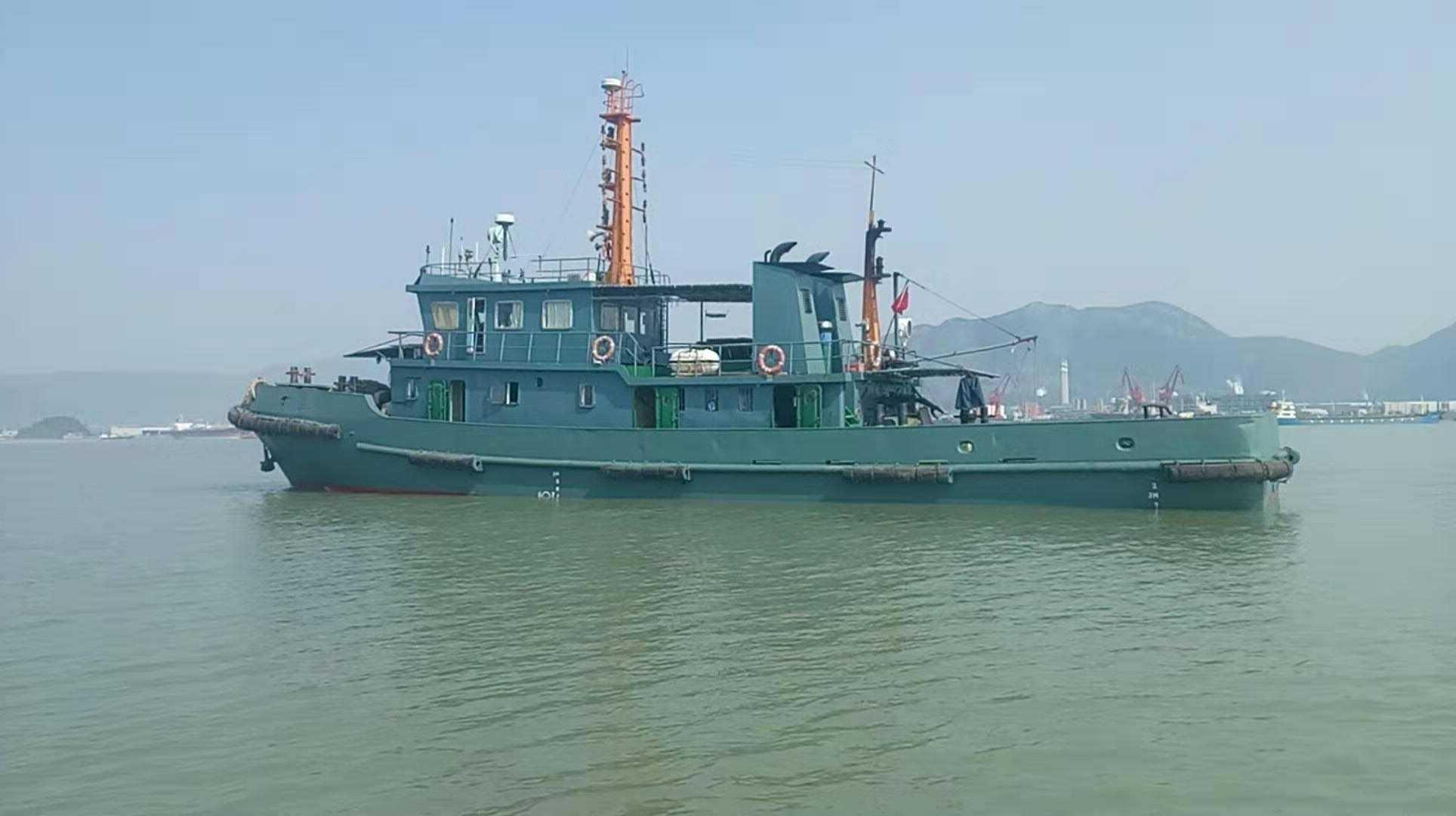 出售1997年内河1500马力拖轮