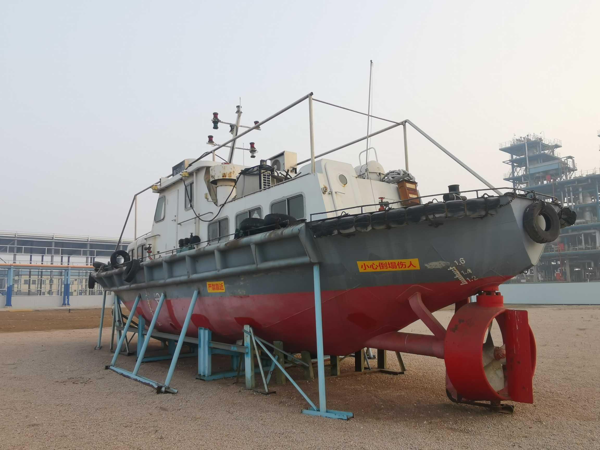 2014年带缆艇(336KW)转让