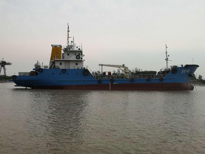 出售510吨污油回收船