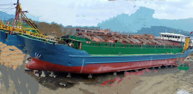2800吨自吸自卸沙船