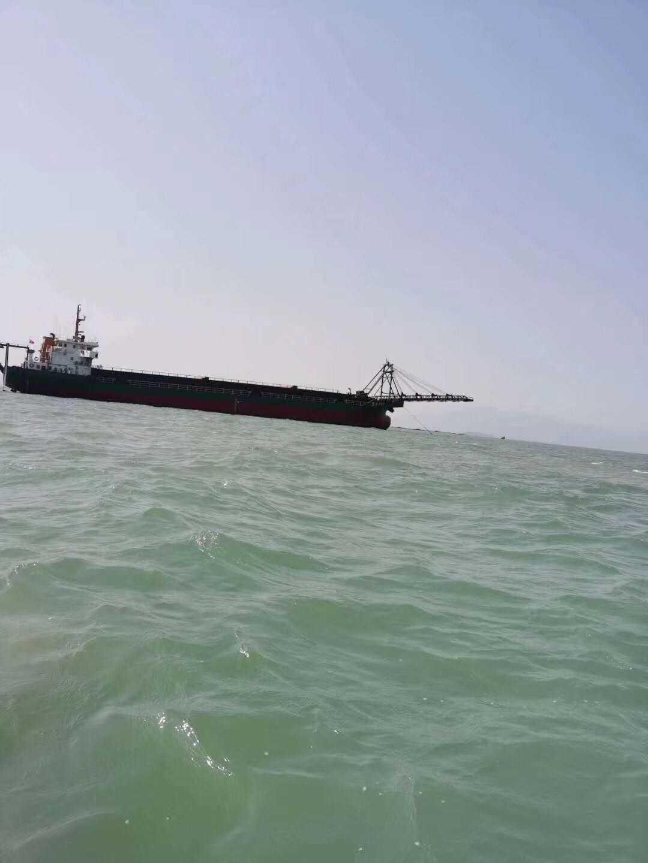 出售5300吨自卸砂船