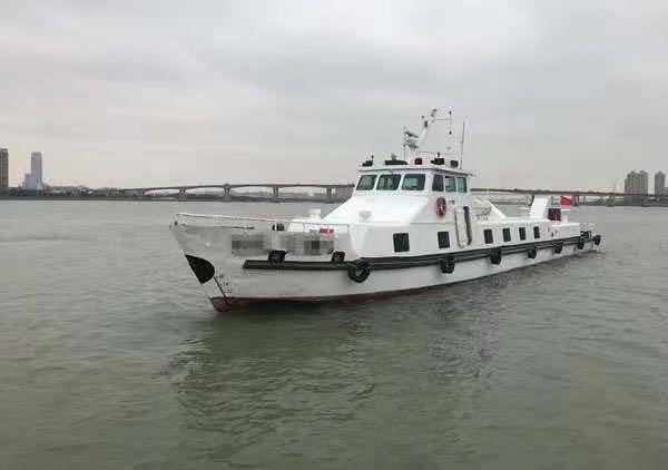 出售30米钢制交通船