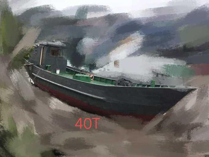 出售:沿海渔船型水船