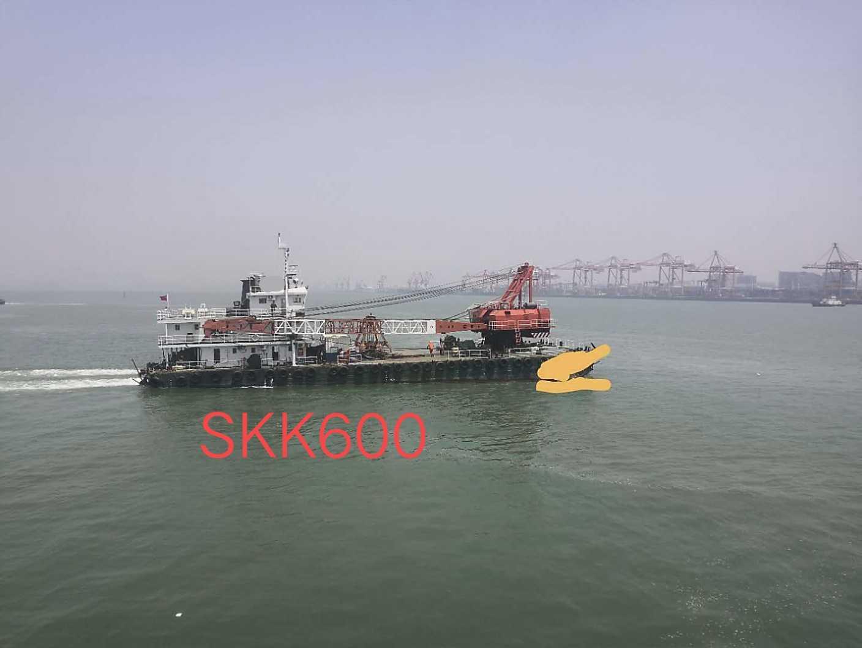 出售:07年造沿海挖泥船