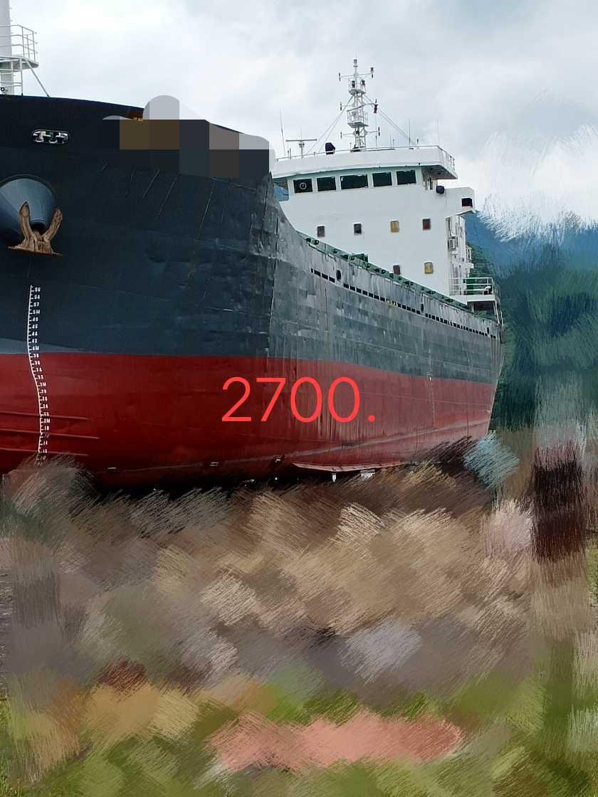 低价出售:05年造集装箱船