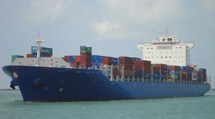 出售58000吨集装箱船