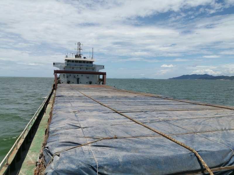出售2004年造5760吨沿海双机散货船
