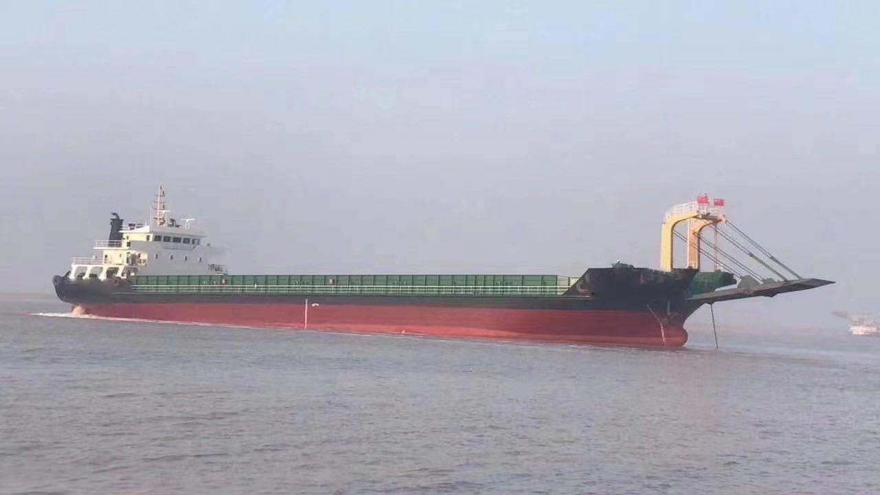 出售5083吨甲板船