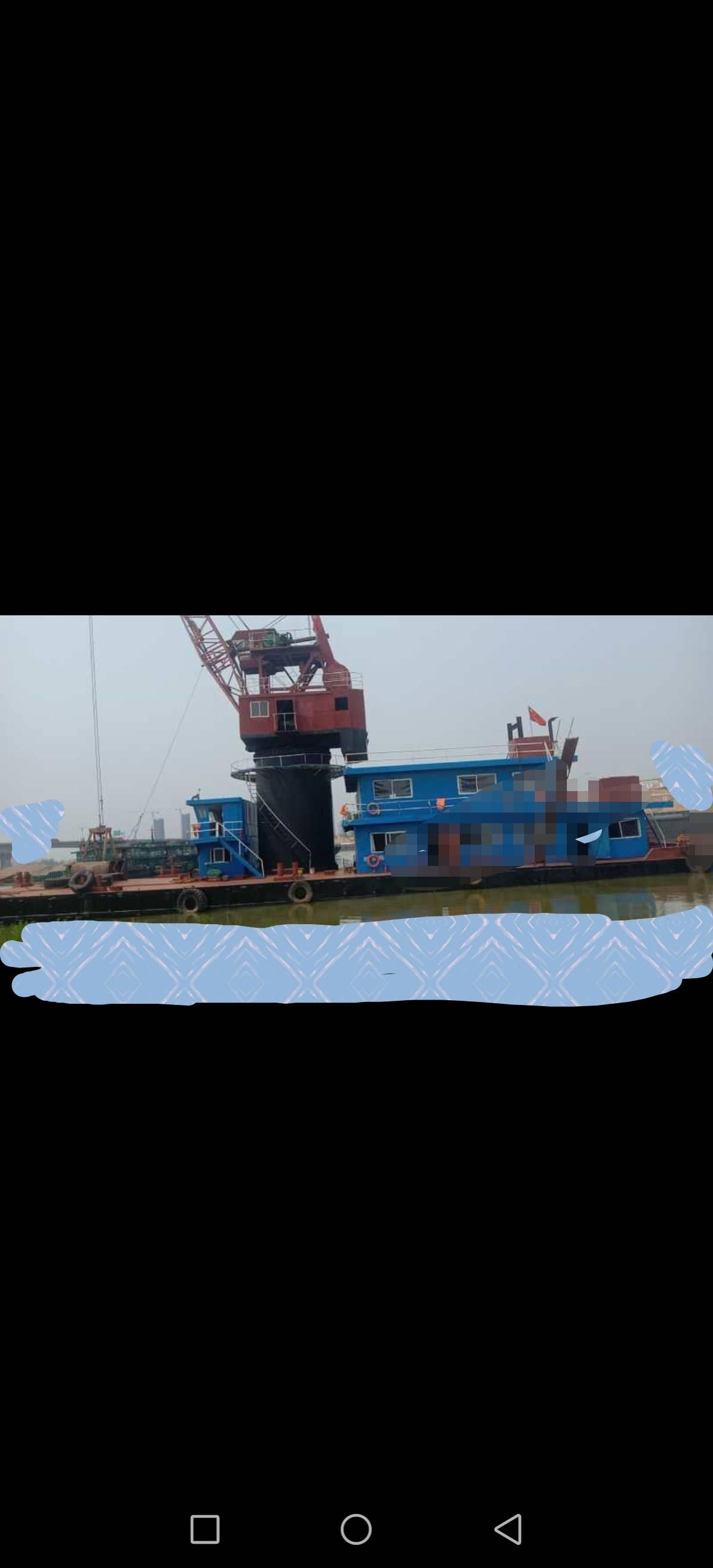 出售13年110起重浮吊船