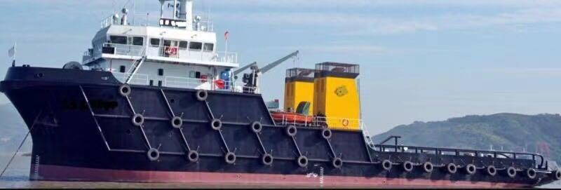 出售4400马力远洋拖轮