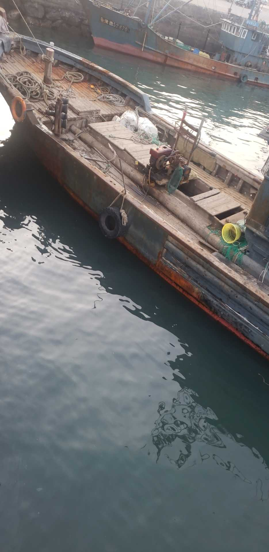 木质渔船出售