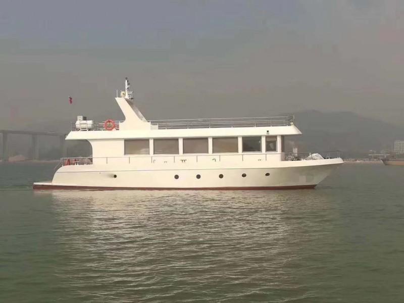 出售2016年造21.05米沿海钢质三类游艇